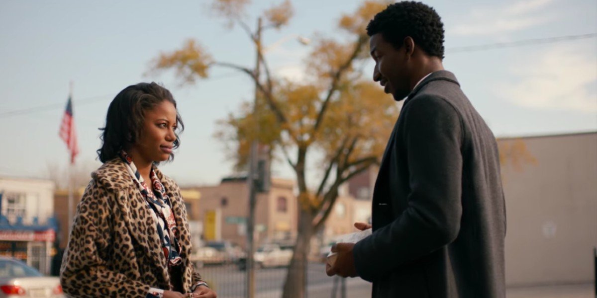 Taylour Paige and Mamoudou Athie in Jean Of The Joneses
