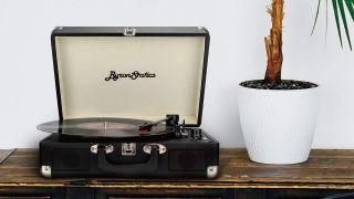 Byron Statics record player
