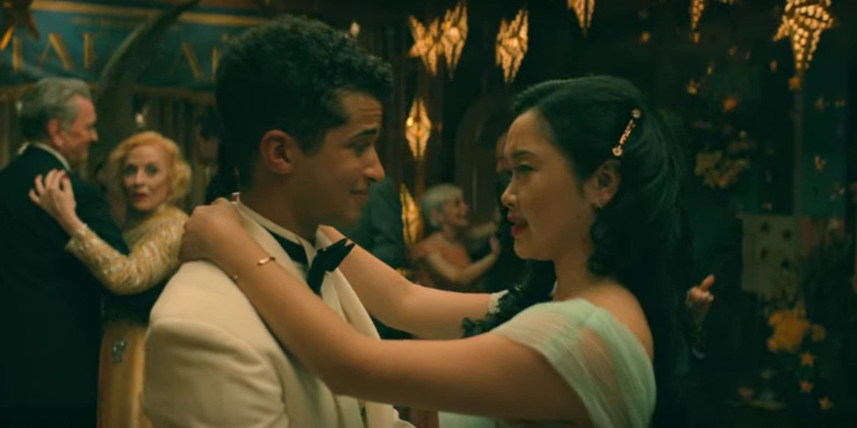 Jordan Fisher and Lana Condor in To All The Boys: P.S I Still Love You
