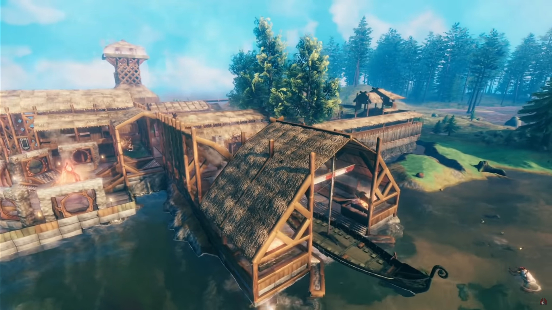CohhCarnage spent 140 hours building an epic Valheim base, here's what he learned
