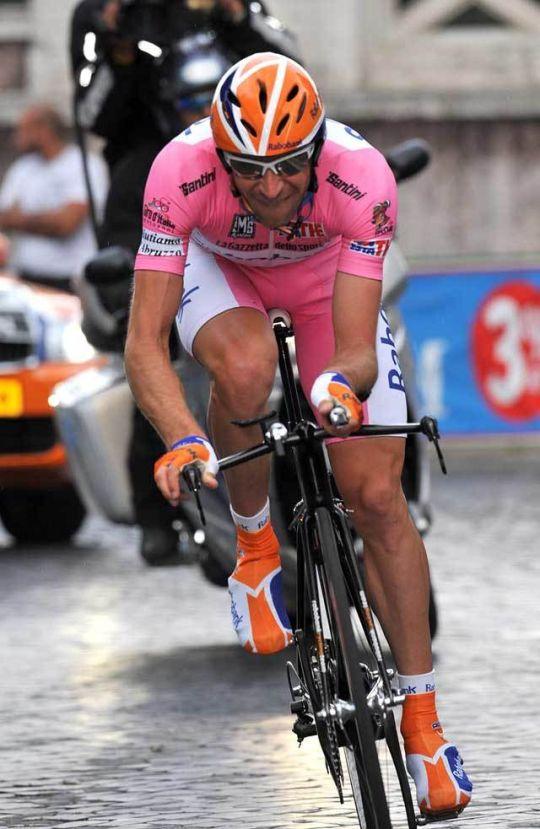 Denis Menchov Giro 2009 stage 21