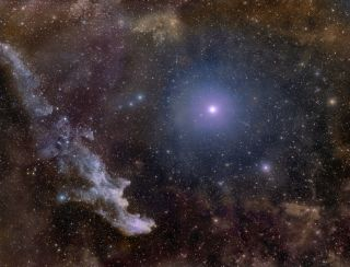 rigel, witch head nebula