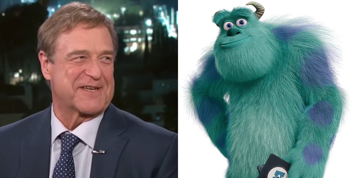 Monsters at Work John Goodman is Sulley
