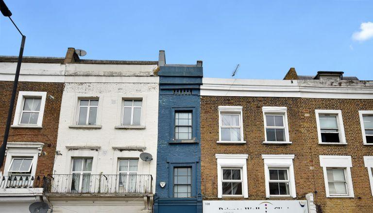 London's thinnest house, house in Shepherd's Bush, London, unique property for sale