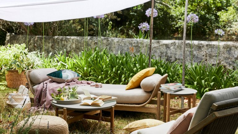 Outdoor day bed, John Lewis & Partners