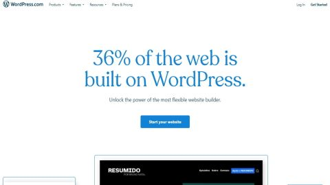 Wordpress website builder review