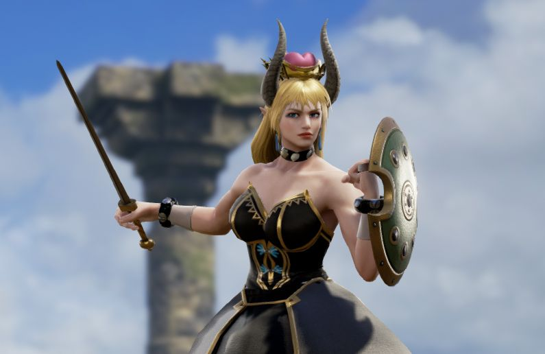 Soul Calibur 6 custom characters include Bowsette, Thanos, and well