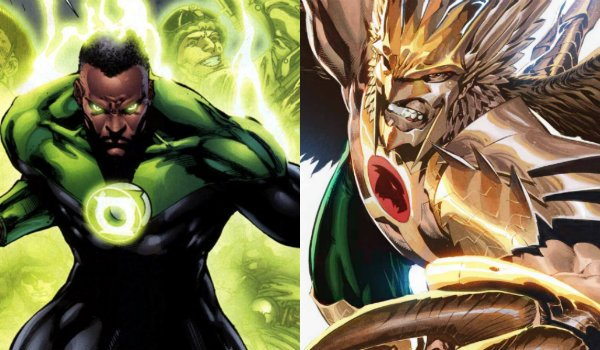 Green Lantern John Stewart Hawkman