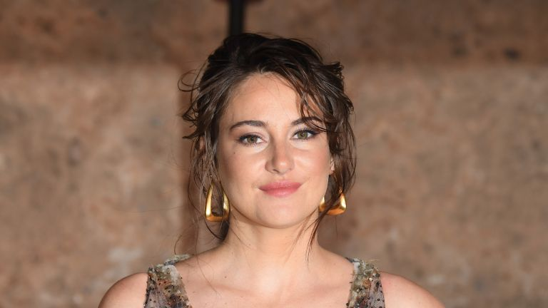 Actress Shailene Woodley attends the Christian Dior Couture S/S20 Cruise Collection on April 29, 2019 in Marrakech, Morocco