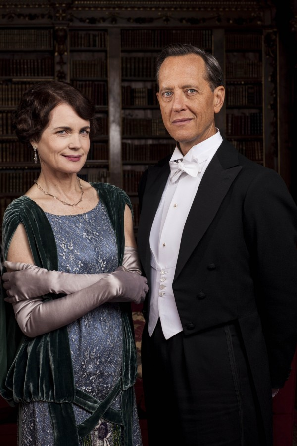 Richard E Grant in Downton Abbey