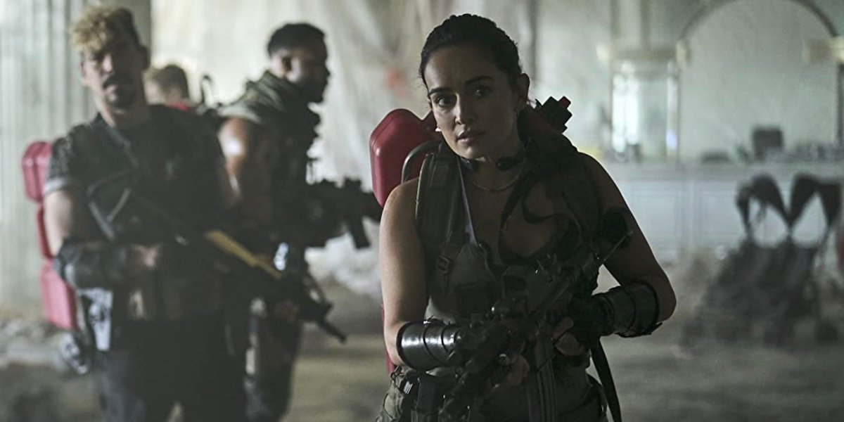 Ana de la Reguera as Maria Cruz in Army of the Dead.
