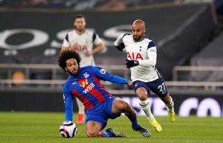 Tottenham Hotspur v Crystal Palace – Premier League – Tottenham Hotspur Stadium