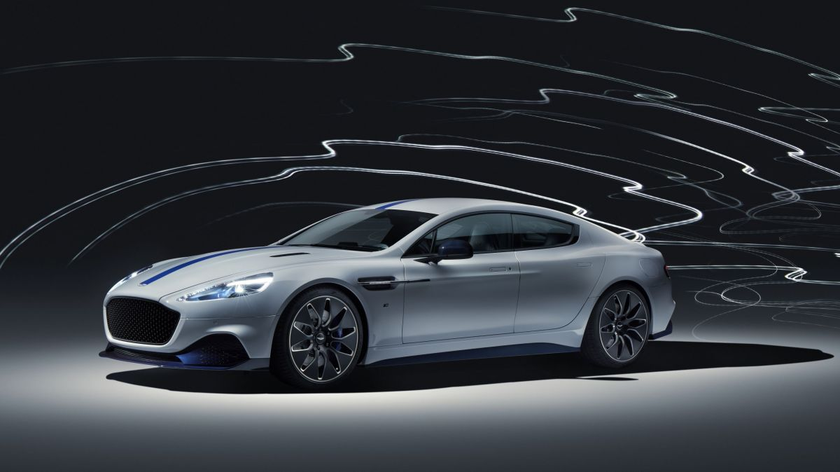 Introducing the first all-electric Aston Martin