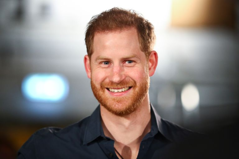 Prince Harry headshot
