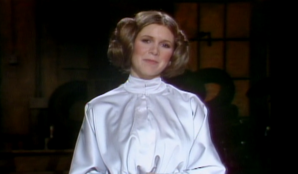 carrie fisher snl