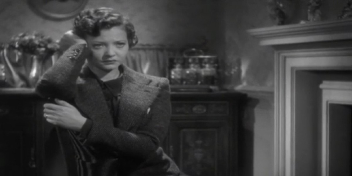 Sylvia Sidney in Alfred Hitchcock's Sabotage