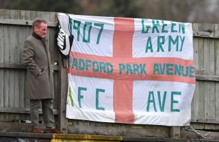Bradford Park Avenue v Curzon Ashton – Vanarama National League North – Horsfall Stadium