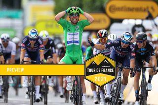 Mark Cavendish (Deceuninck-QuickStep) at the Tour de France