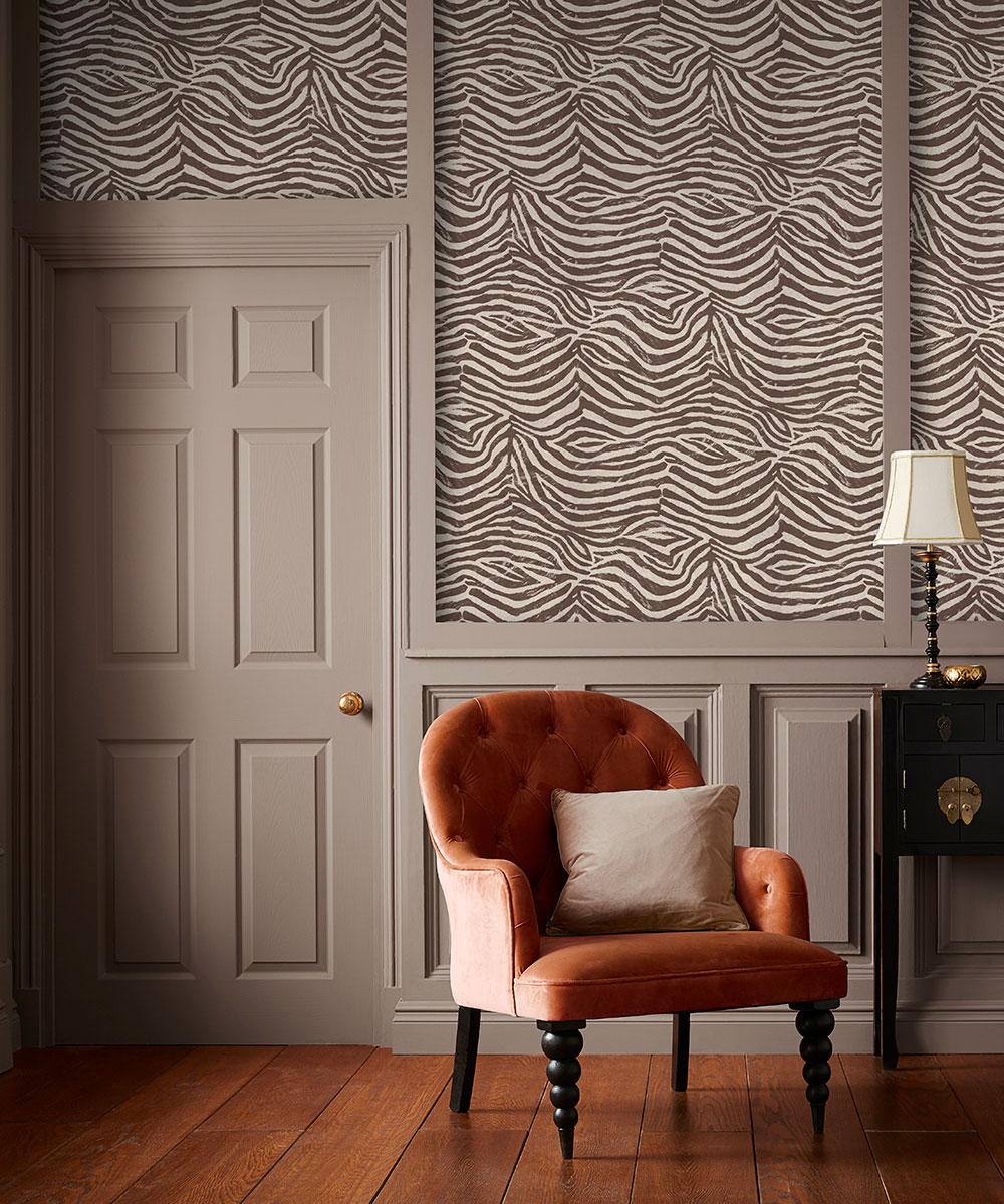 . The Graham and Brown animal print wallpapers that let you go wild on