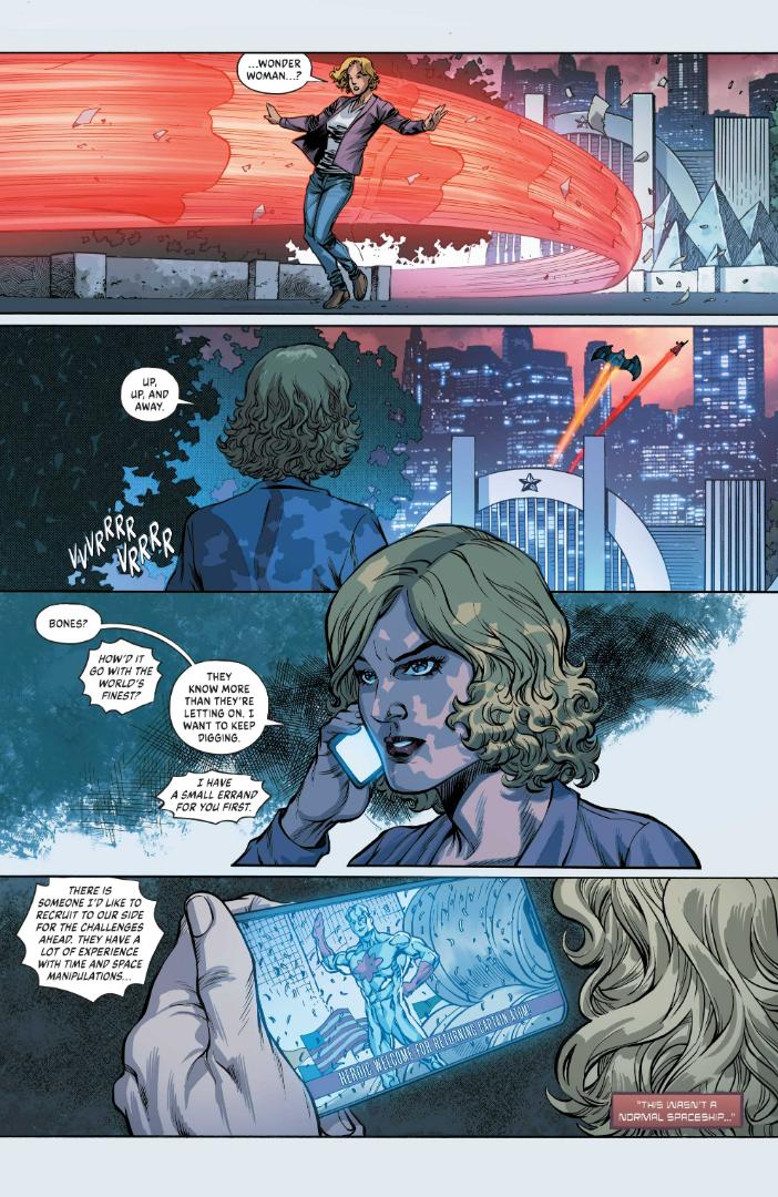 Página de Infinite Frontier # 2