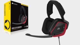 Treat your ears to 7.1 surround sound with the Corsair Void Elite Surround headset for $54.99