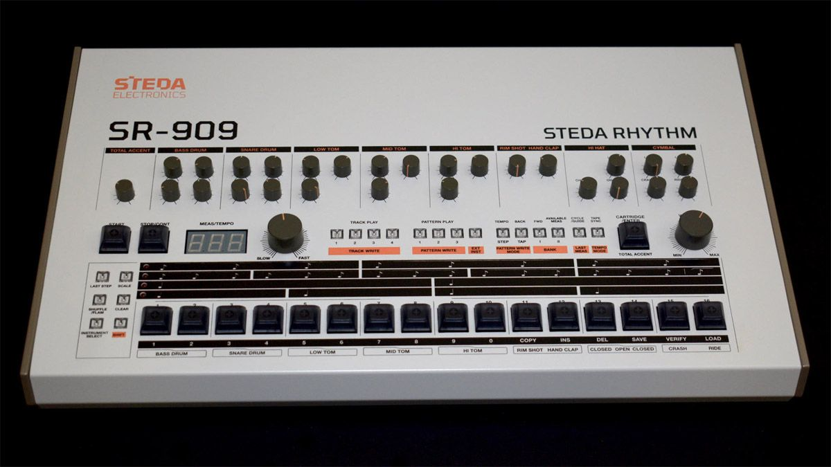 No, that's not a TR-909 you're looking at, but it might be as close as you can get if you want to buy one