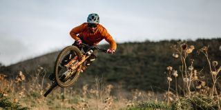 Trail mountain biking
