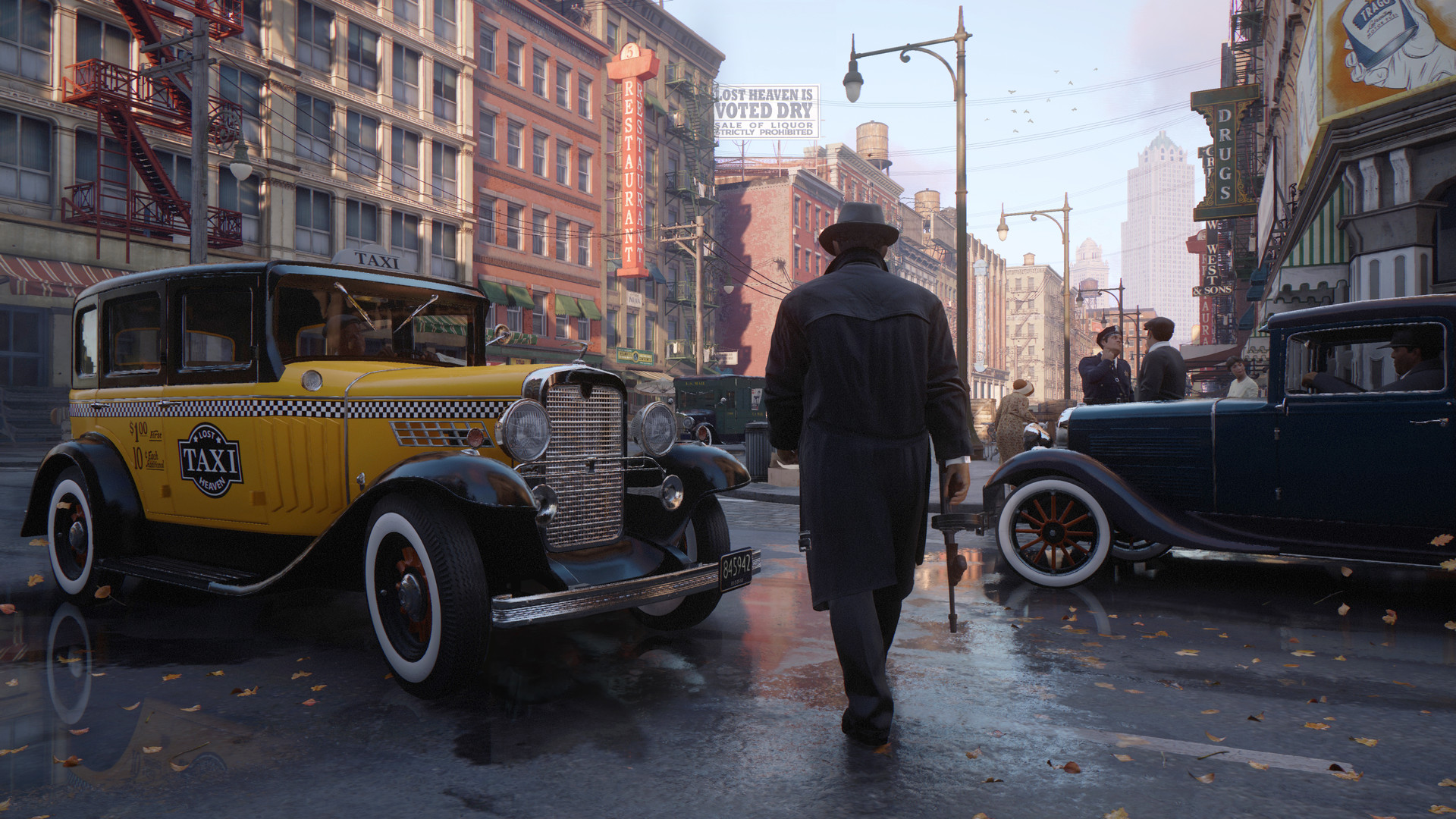 "The Mafia: Definitive Edition Trilogy is a chance for Hangar 13 to ""step  back and put a line in the sand"" 