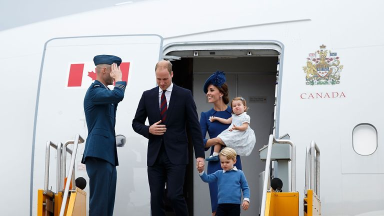 Will and Kate traveling with children
