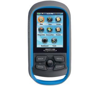 The new Magellan eXplorist 110 GPS receiver.