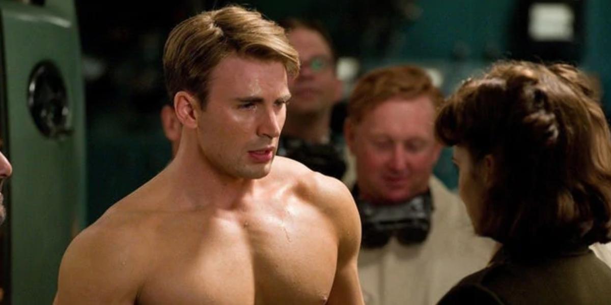 Chris Evans in The First Avenger