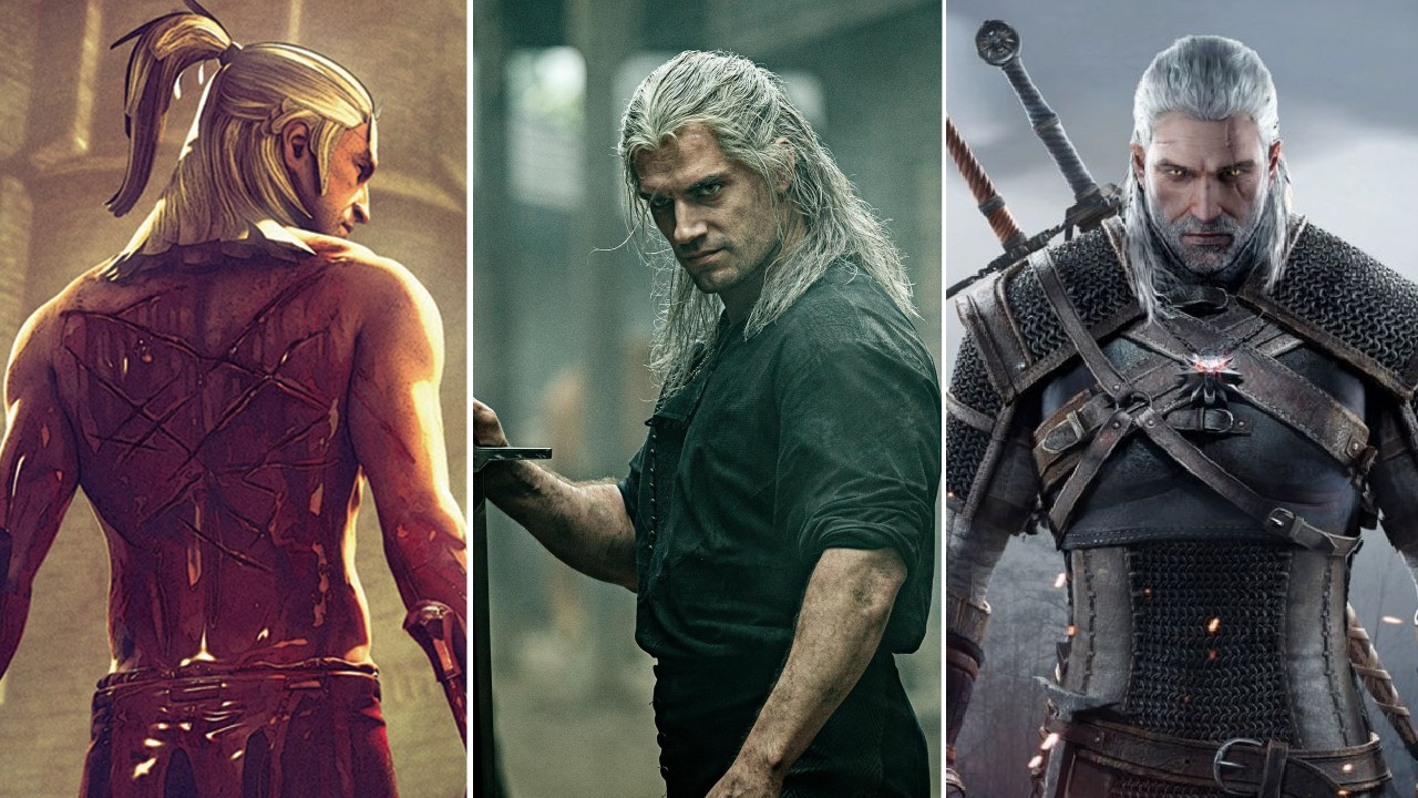 Las 3 versiones de The witcher