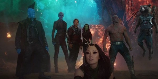 The Guardians after defeating Ego