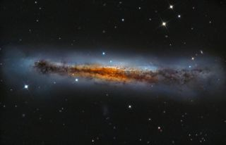 NGC 3628 Hamburger Galaxy Falesiedi