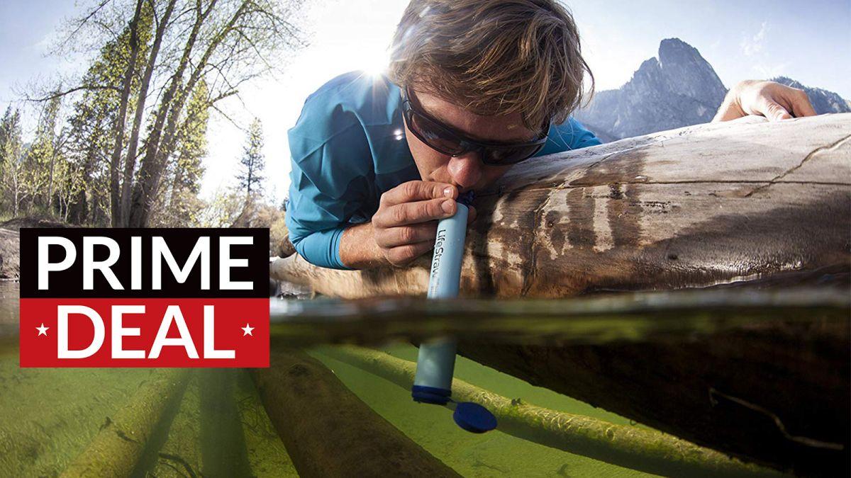 Amazon Prime Day bargain: the award-winning Lifestraw Water