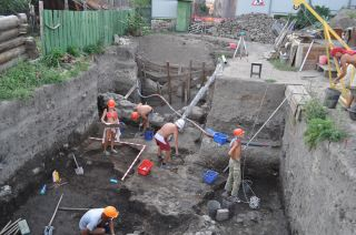 Archaeologists with the Saratov Regional Museum of Local Lore have uncovered part of the ancient city of Ukek, founded by the descendents of Genghis Khan.