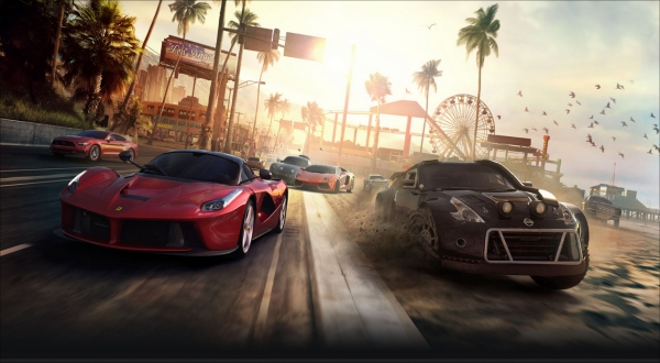 e3 2014 the crew release date set for xbox one ps4 pc. Black Bedroom Furniture Sets. Home Design Ideas