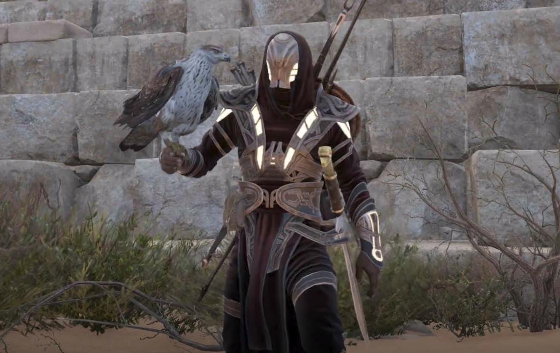 Assassin S Creed Origins How To Find The Secret Isu Armor Pc Gamer