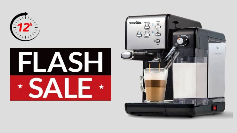 Amazon Flash sale, Breville One-touch CoffeeHouse Coffee Machine, Pre Black Friday deal