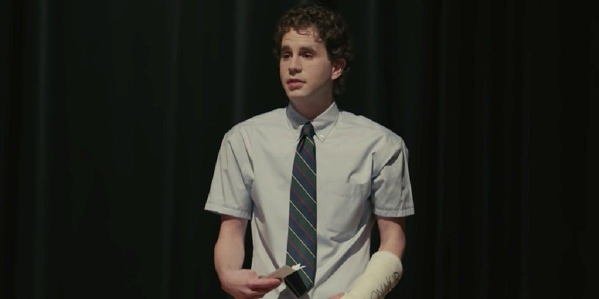 Ben Platt in the trailer for Dear Evan Hansen.