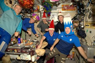 New Year at ISS