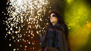 Alice Cooper performs at The O2 Arena at Stone Free Festival on June 18, 2016 in London