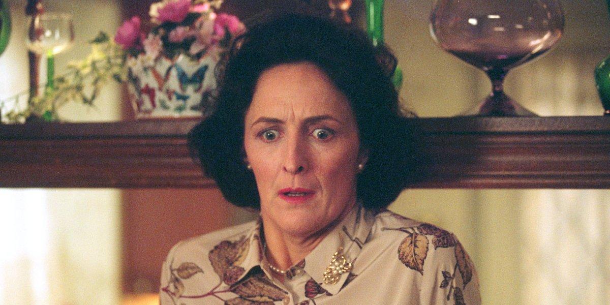 Fiona Shaw as Petunia Dursley