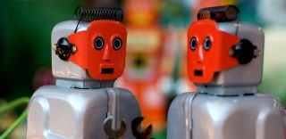 Robot toys, humanizing robots
