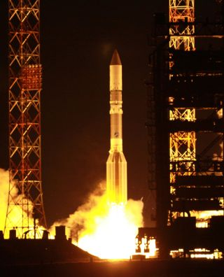 International Launch Services Proton Rocket Launch