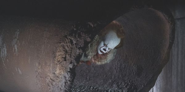 IT's pennywise creepy face