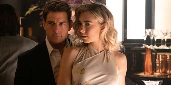 Tom Cruise and Vanessa Kirby In Mission: Impossible - Fallout 2019