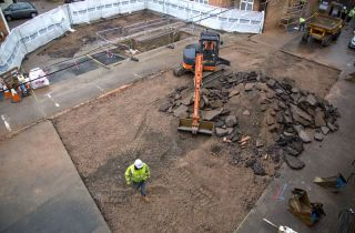Leicester dig site