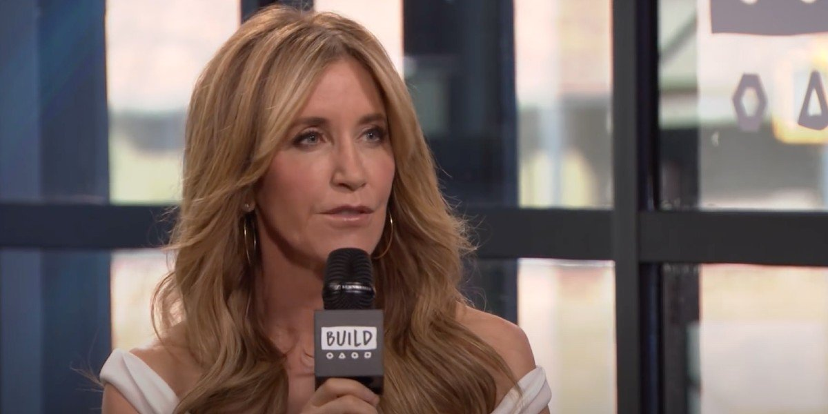 Felicity Huffman on BUILD Series