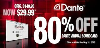 Audinate Holds Promotion for Dante Virtual Soundcard
